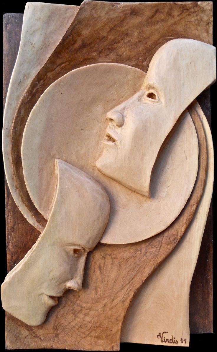 Scultura in legno: Contrapposizioni (2011)
