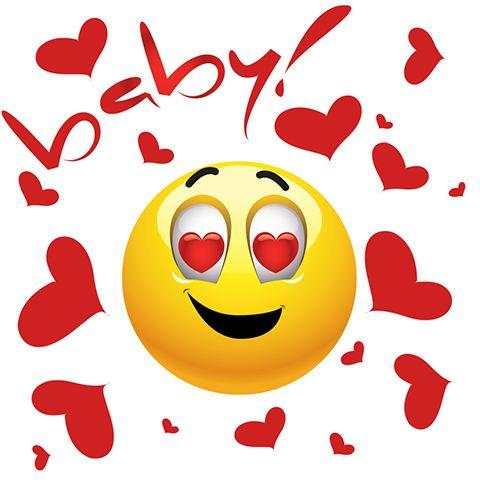 Emoticon With Hearts - Facebook Symbols and Chat Emoticons