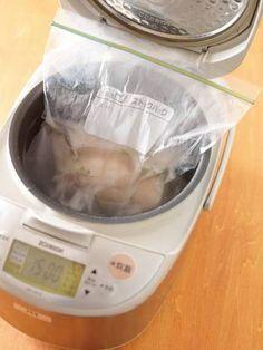 炊飯器の「保温」は70度に保ってくれる。