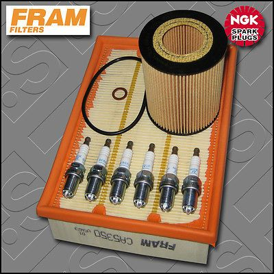 #Service kit bmw 3 #series 330i e46 fram oil air filter ngk #spark plug (2000-200,  View more on the LINK: http://www.zeppy.io/product/gb/2/221067110287/