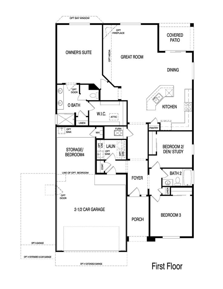32 best pulte homes floor plans images on pinterest real for Emerald homes floor plans