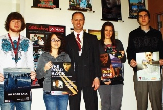 """NESCom students assists with film """"The Road Back"""""""