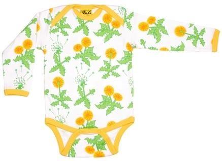 Duns Sweden Organic  l/s bodysuit - Dandelion Retro Baby Clothes - Baby Boy clothes - Danish Baby Clothes - Smafolk - Toddler clothing - Baby Clothing - Baby clothes Online