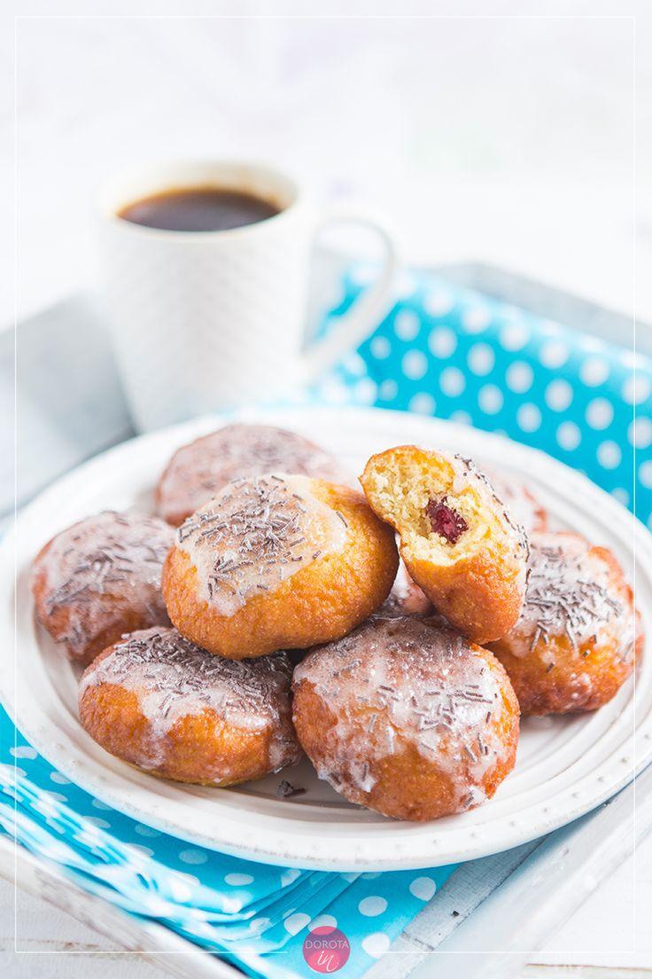 Pączki bezglutenowe, bez gumy guar i gumy ksantanowej, smażone.  http://dorota.in/paczki-bezglutenowe/  #doughnuts #donuts #przepis #pączki #recipe #food #tlustyczwartek #karnawal