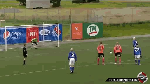 'The Catch of the Day' | The best football celebration I have ever seen...