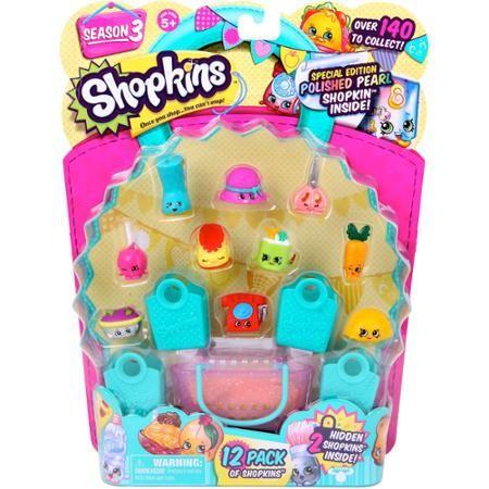 Shopkins Season 3 12-Pack - Walmart.com