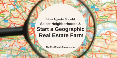 geographic real estate farming how real estate agents should select neighborhoods and start geographic real estate farming activities within them
