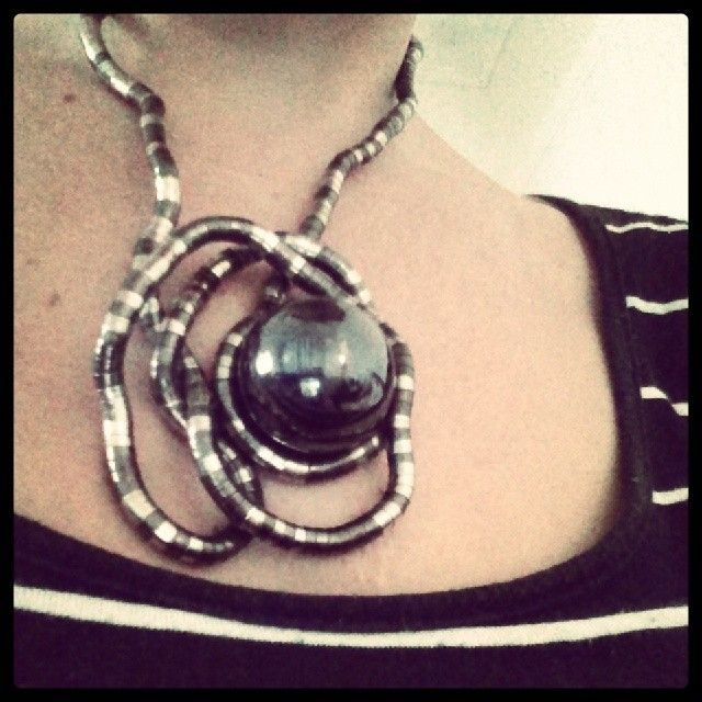 Magnetic ball what do you think? #endlesspossibilities - http://www.knotlace.com.au/ #style #fashion #accessory #jewellery