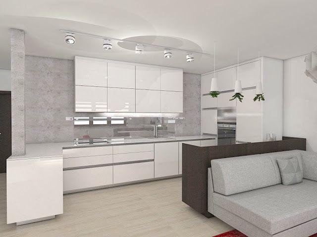 návrh interiéru kuchyně Markéta Šilhavíková