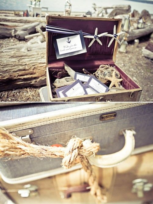 Vintage Nautical Wedding Inspiration  Get your Nautically themed #weddinginvitations here: www.digbyrose.com  #digbyrose