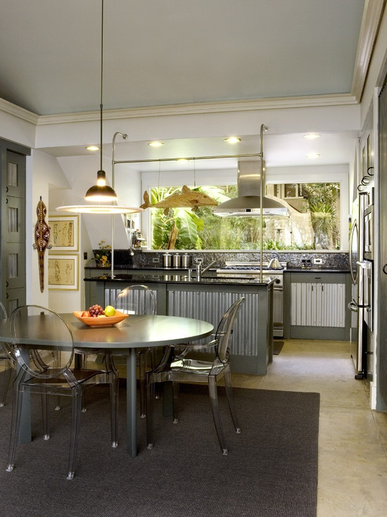175 best images about corrugated and galvanized metal for Kitchen design 43055