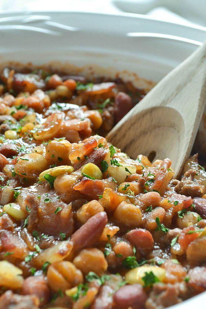Easy calico bean recipe