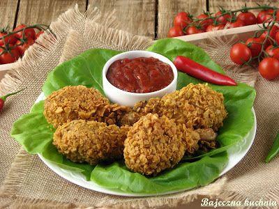 Bajeczna Kuchnia: Chrupiące pałki z kurczaka a la KFC