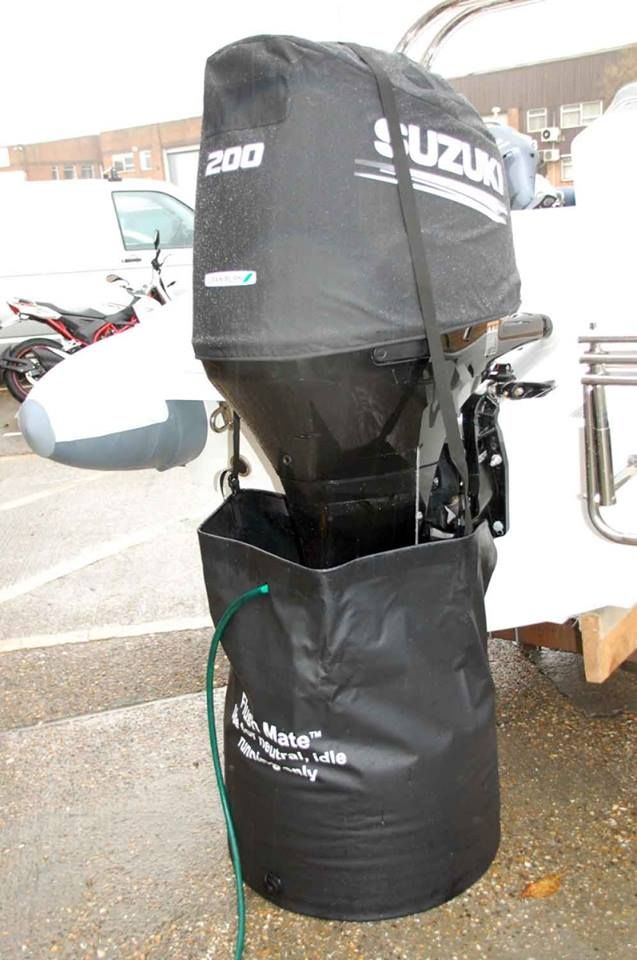 Flush Mate™ Motor Flushing Bags Made from ripstop fabric
