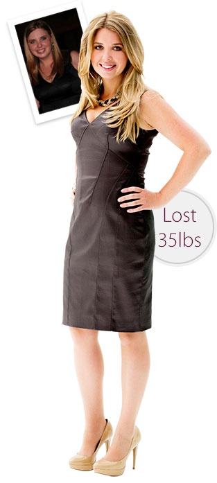 Nicole lost 35 lbs with Diet Chef!