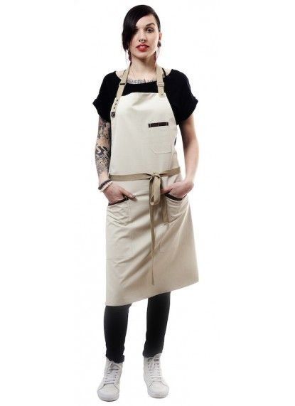 Tablier de cuisine serveur - restaurant design- barista apron- tablier de chef. Delantal de diseño. Jook company
