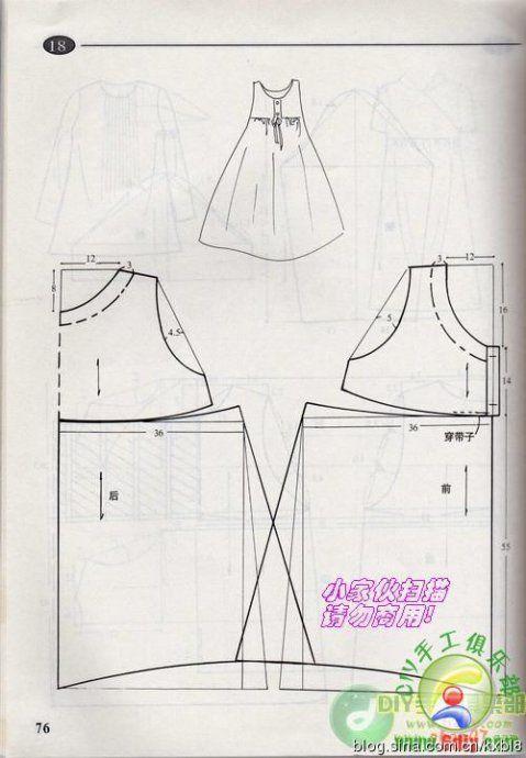 Pregnant women dress pattern