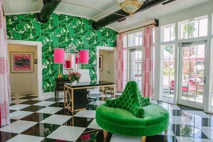 Зеленый цвет в интерьере: 25 восхитительных деталей (con ...