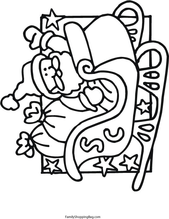 santa sleigh coloring pages itchin for stitchin pinterest coloring pages coloring pages for kids and christmas