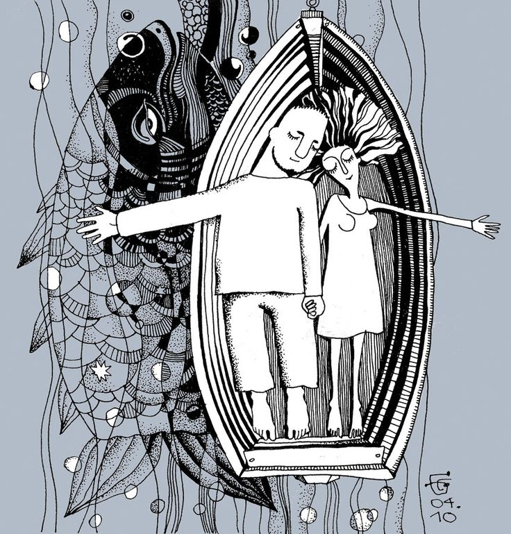 illustration by Catherine Bowman - Сон, Other © ЕкатеринаБауман