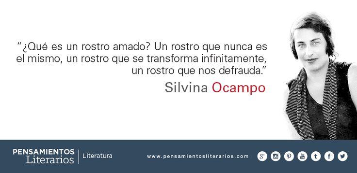 Silvina Ocampo. Sobre la idealización.