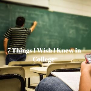 """The """"real world"""" is completely different from college. Which is odd considering that college is supposed to be your first taste of independence and the world out there. Here are 7 things I wish I knew when I was in college:  1) Your grades don't matter: This part hit me the most when job-hunting. …"""