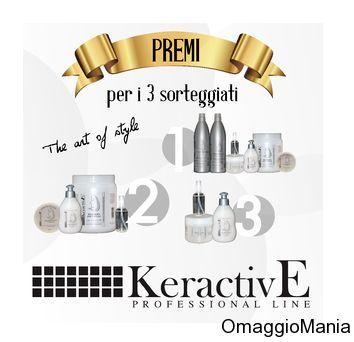 Vinci prodotti per la cura dei capelli KeractivE - http://www.omaggiomania.com/concorsi-a-premi/vinci-prodotti-per-la-cura-dei-capelli-keractive/