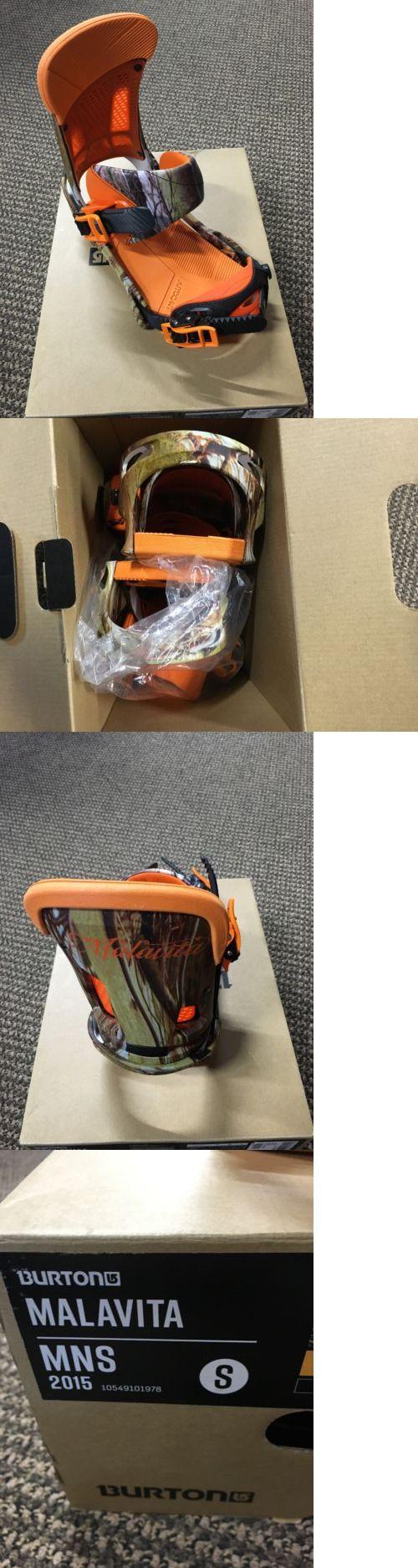 Bindings 21248: 2015 Burton Malavita S *New In Box* -> BUY IT NOW ONLY: $129 on eBay!