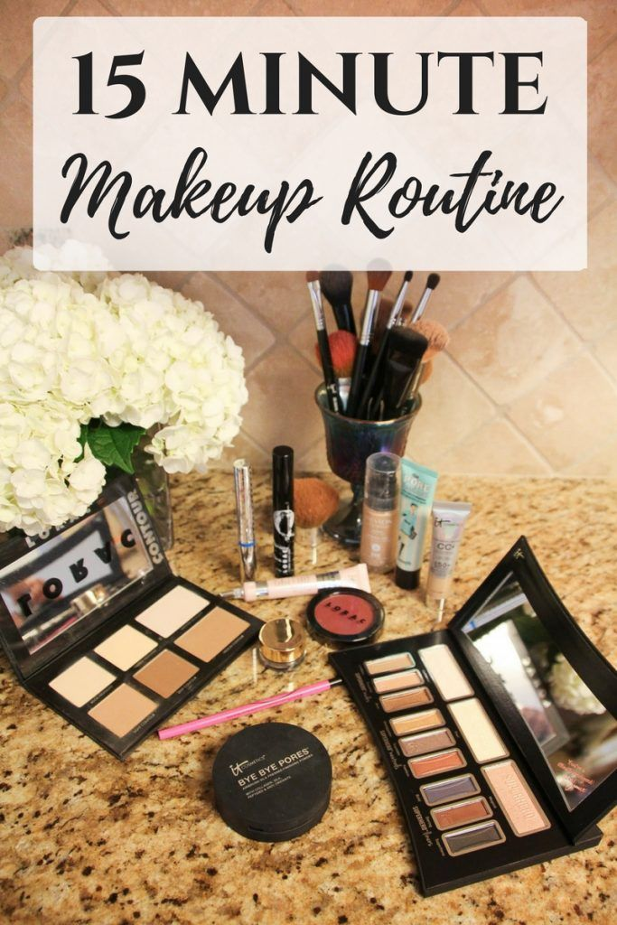 A step by step guide to my 15 minute everyday makeup routine and how to change…