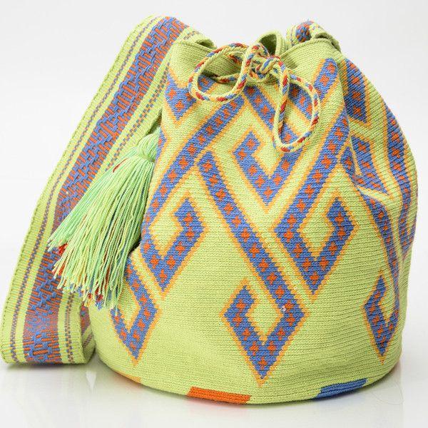 AUTHENTIC HANDMADE WAYUU MOCHILA BAGS   WOVEN BY THE INDIGENOUS WAYUU TRIBE OF SOUTH AMERICA 100% COTTON. www.wayuutribe.com