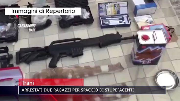 TRANI ARRESTATI DUE RAGAZZI PER SPACCIO DI STUPEFACENTI   TG TELE APPULA...