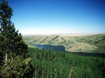 Cypress Hills Alberta -- Reesor Lake and Elkwater