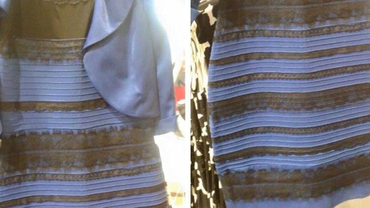 Streit um's Kleid: Ist dieses Kleid blau-schwarz oder weiß-gold?