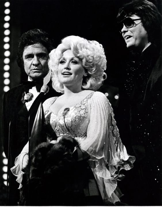 Johnny Cash, Dolly and Ronnie Milsap Trifecta of awesomeness.