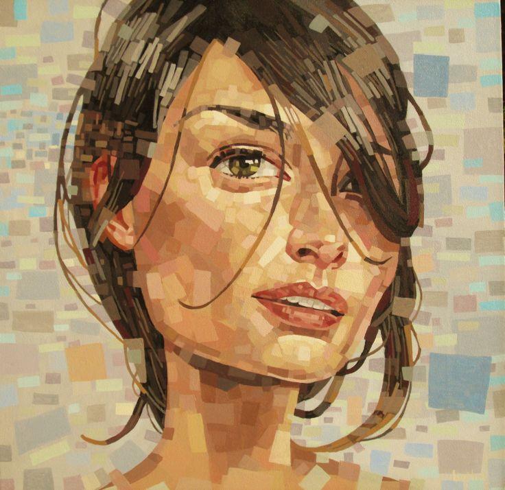 johan botha, acrylic on canvas