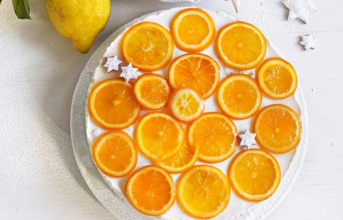 Orangen-Buttermilchtorte