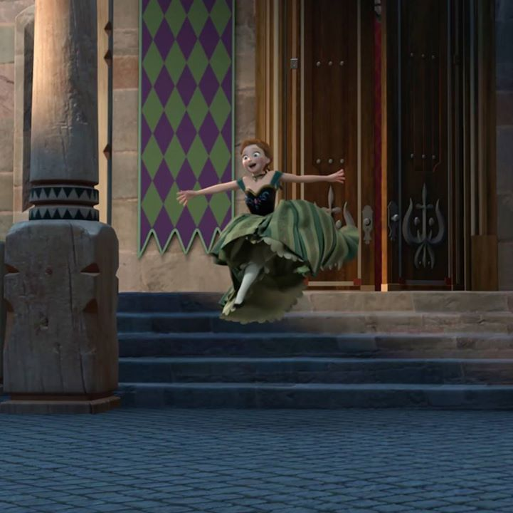 Leaping into the holiday spirit. #FROZEN #ELSA #ANNA #OLAF #KRISTOFF