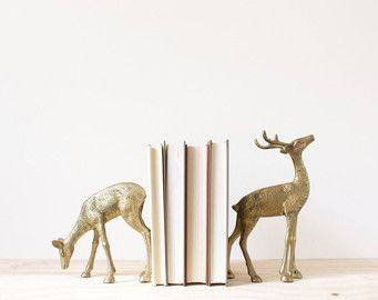 these bookends would look lovely in a cabin!