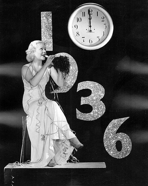 alice faye - new years 1930's