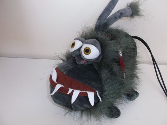 Monster Dog Rock Climbing Chalk Bag made from a child's