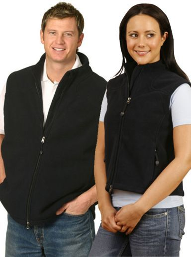 Vests : Ladies Frost Micro Bonded Polar Fleece Vest - Uniforms