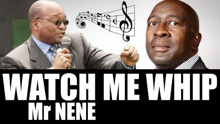 Jacob Zuma singing Watch me whip Mr Nene (dubstep)