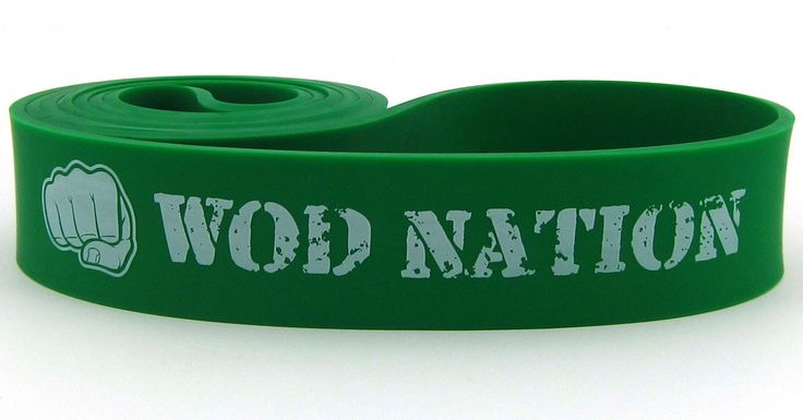 #4 Green Resistance Band - 50 to 125 lbs of Resistance