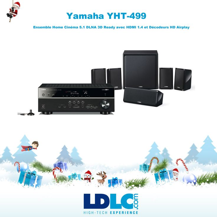 Grand jeu de Noël LDLC ! Vous avez voté pour : Yamaha YHT-499 www.ldlc.com/...