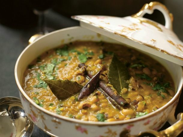 Suvir Saran's Black-Eyed Pea Curry: Make it vegan by swapping the ...