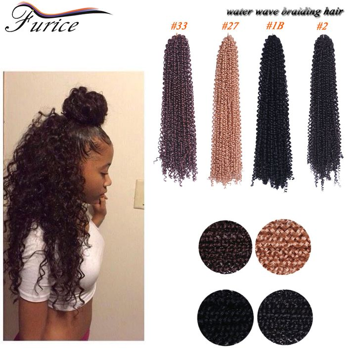 Aliexpress.com : Buy Blonde Braiding Hair Water Wavy Marley Twist 18in 90g Havana Mambo Twist Crochet  Hair Extensions Cheap Hair Bundles Water Wave from Reliable hair styles medium length hair suppliers on furice hair Store