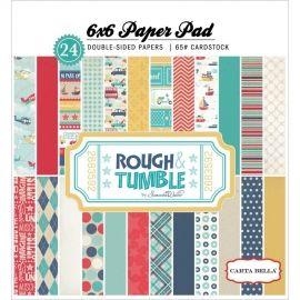 Rough & Tumble 6x6 paperpad - Echo park * CB-RT19015   Echo Park   madebymaly