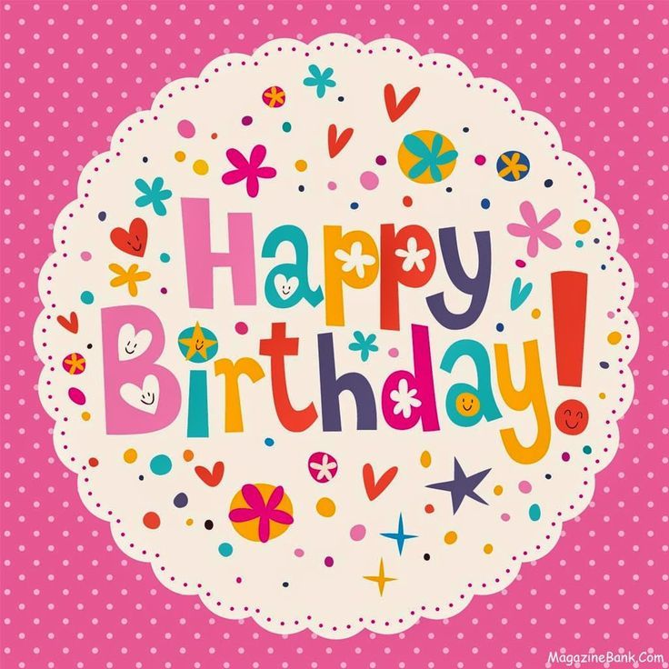 562 Best Images About Happy Birthday Clipart On Pinterest