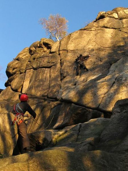Climbing - Medium - Climbing adventure.