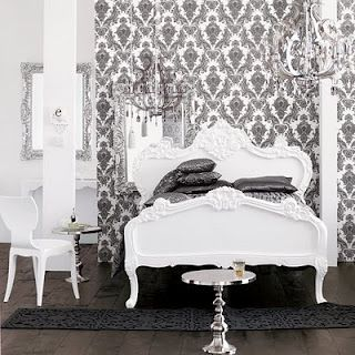 Lovely A New Take On Brocade. Damask BedroomBedroom DecorBedroom ...